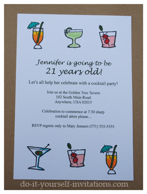 21st birthday photo invitation templates ; 21st-birthday-invitations-2