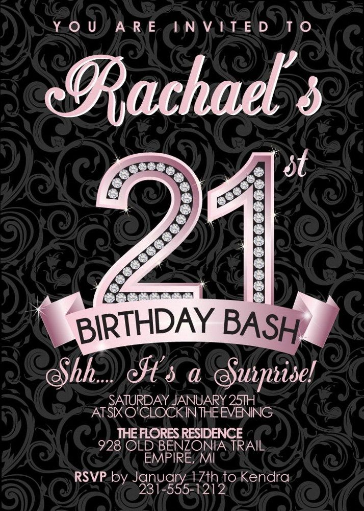 21st birthday photo invitations designs ; 44c5c8c42211330d022981955f0f9112