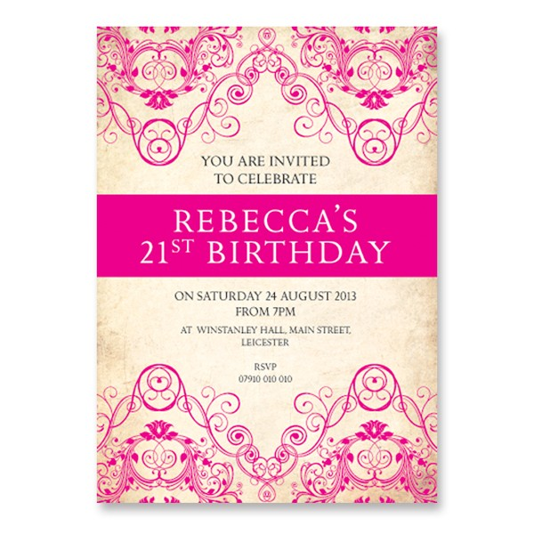 21st birthday photo invitations designs ; Extraordinary-21St-Birthday-Invitations-As-Birthday-Party-Invitation-Template