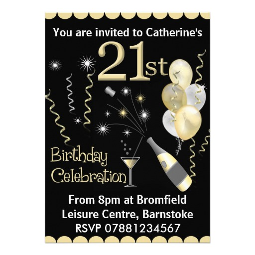 21st birthday photo invitations designs ; Glamorous-21St-Birthday-Invitations-To-Make-Birthday-Invitations-Free