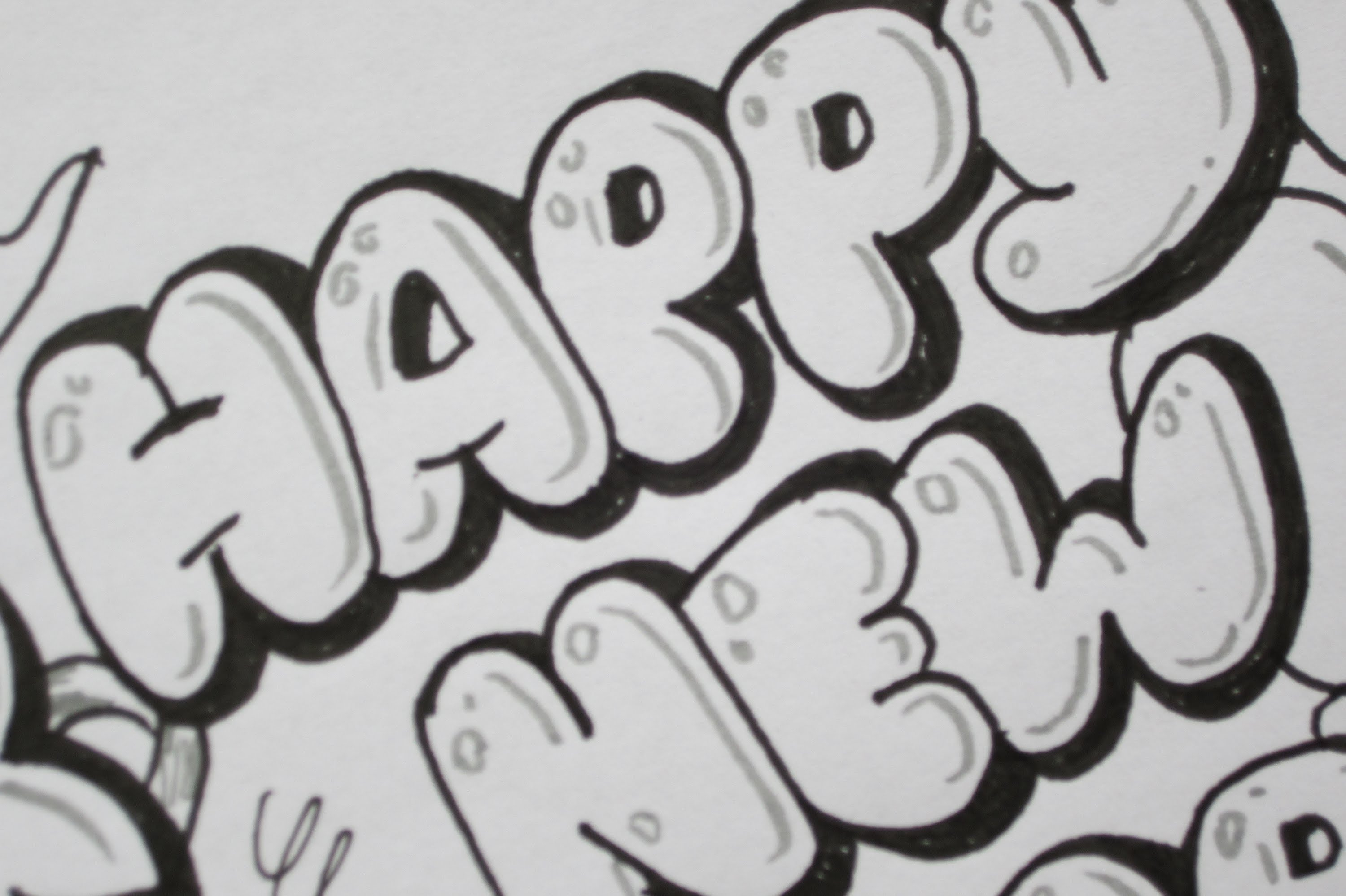 3d happy birthday drawing ; happy-birthday-in-graffiti-writing-how-to-write-happy-new-year-in-bubble-letters-youtube