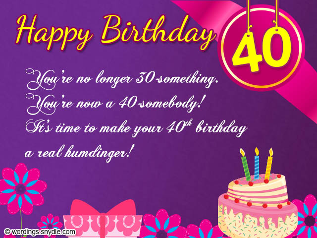 40 birthday greeting messages ; 731640e692305c0889995d4611a3d823