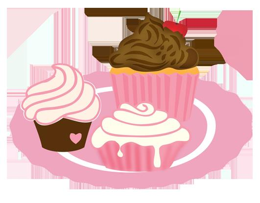 40th birthday border clip art ; cakes-for-tea-party