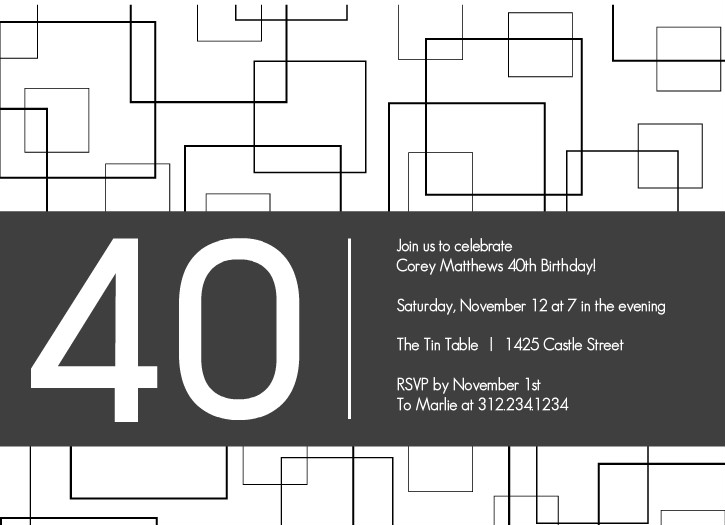 40th birthday clip art borders ; 40th-birthday-party-clipart-for-invitations-14