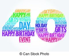 40th birthday clipart images ; happy-40th-birthday-word-cloud-collage-concept-clip-art-vector_csp48375261