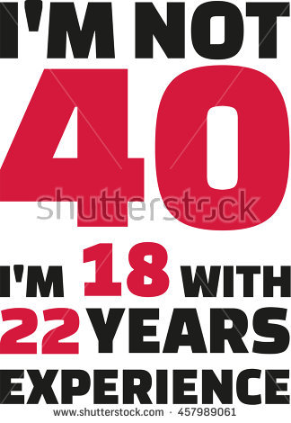 40th birthday clipart images ; stock-vector-i-m-not-i-m-with-years-experience-th-birthday-457989061