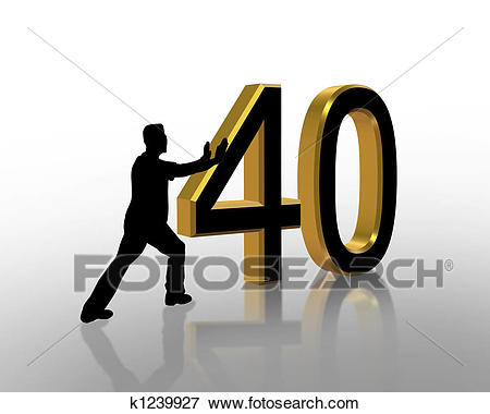 40th birthday clipart pictures ; 40th-birthday-3d-invitation-stock-illustration__k1239927