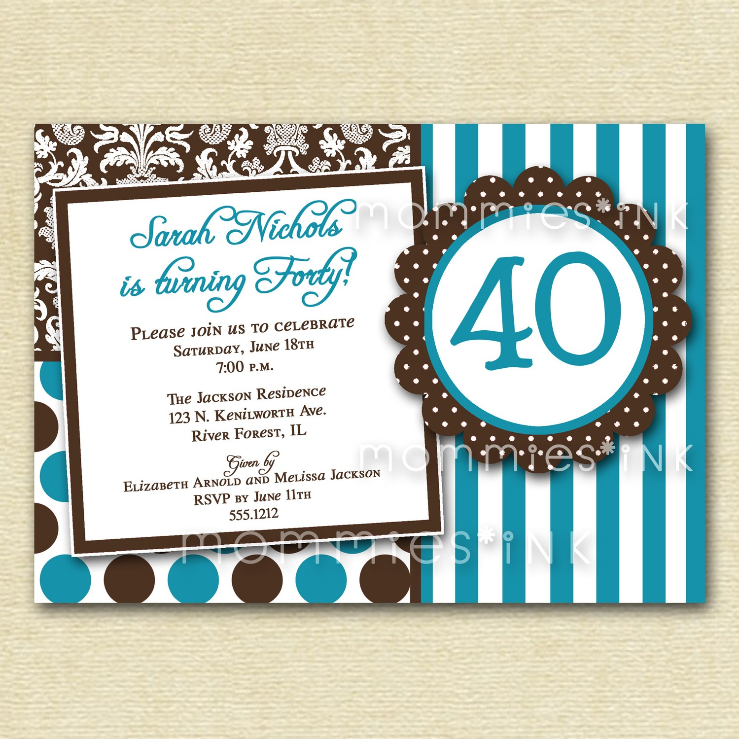 40th birthday invitation cards designs ; 40Th-Birthday-Invitations-For-Her-and-get-ideas-how-to-make-easy-on-the-eye-birthday-Invitation-appearance-1