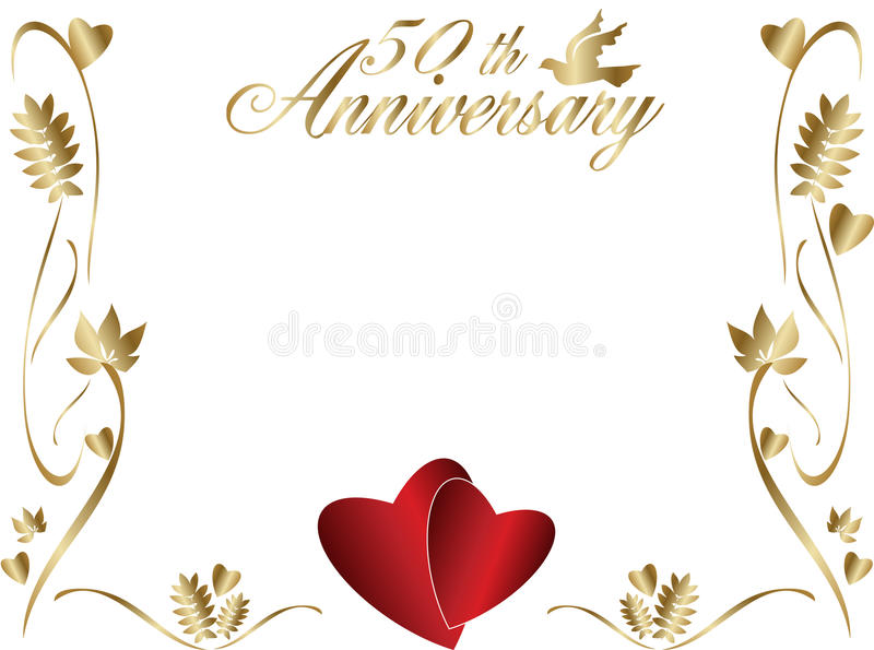 50th birthday border clip art ; 50th-wedding-anniversary-border-11273035