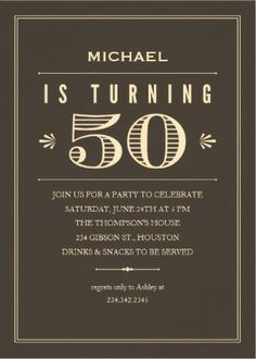 50th birthday invitation card designs ; 50th-birthday-invitations-for-him-and-the-Birthday-Invitation-Cards-invitation-card-design-of-your-invitation-8