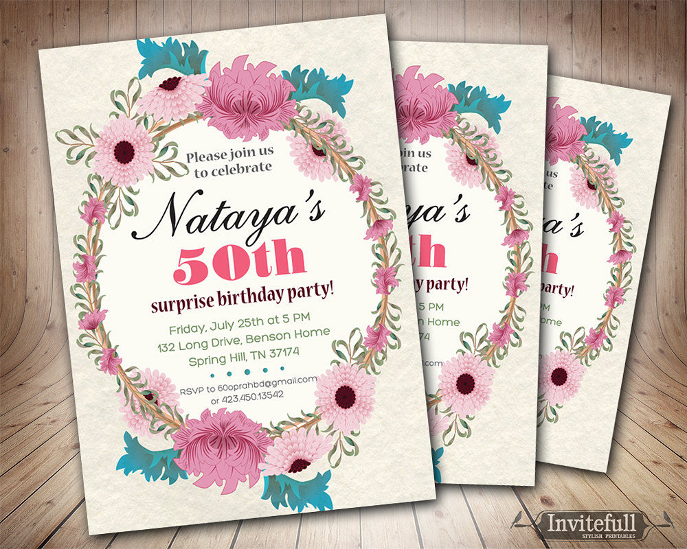 50th birthday invitation cards printable ; 0e5b38f25cc01b2621ec11e6dcf30d2b