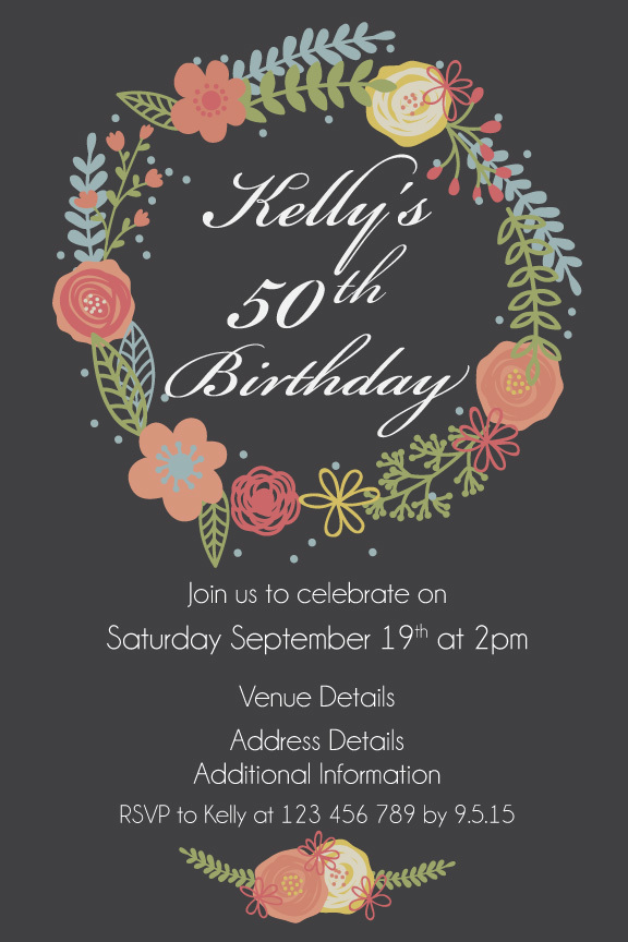 50th birthday invitation cards printable ; 5dfdd2571e3d8b6c1c3974f4a4b8e81e