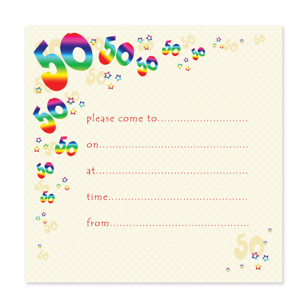 50th birthday invitation cards printable ; 7ac141351d4be35a677dc2d9c23a7a7e