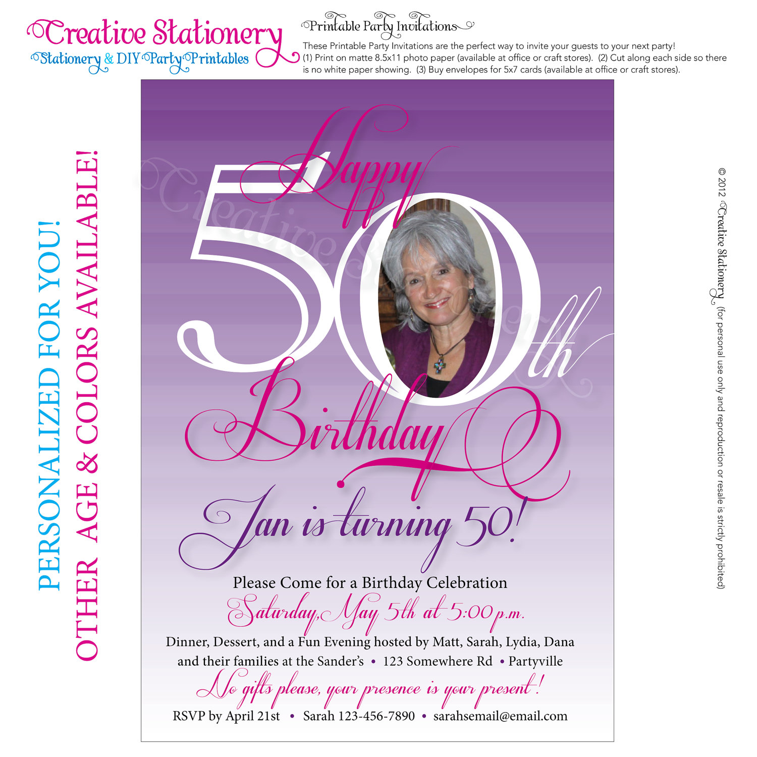 50th birthday invitation cards printable ; Funny-50Th-Birthday-Invitations-and-get-ideas-how-to-make-divine-birthday-Invitation-appearance-1