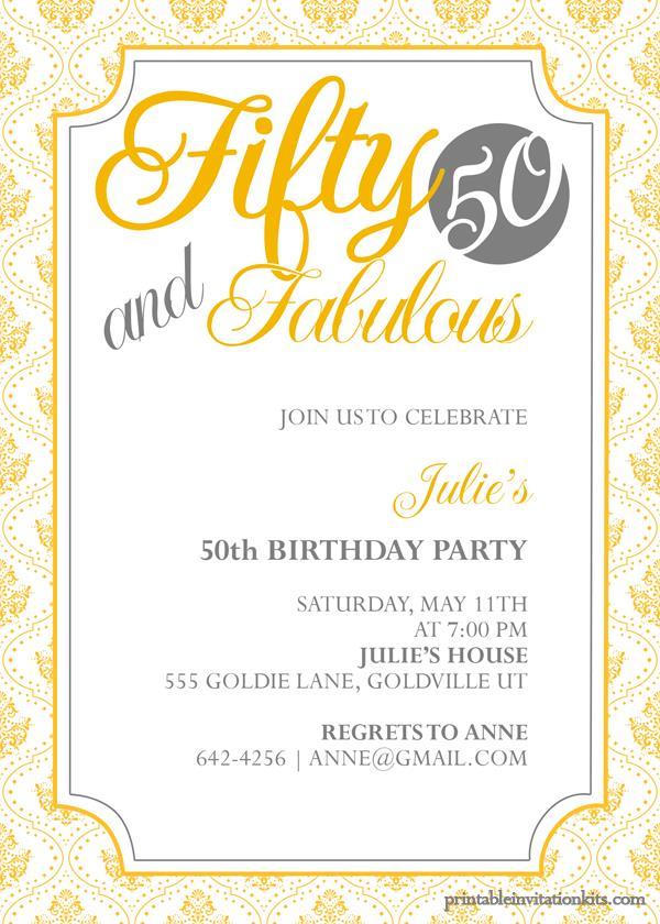 50th birthday invitation cards printable ; ab1ef10790bd3b4a674afa93dd275f31