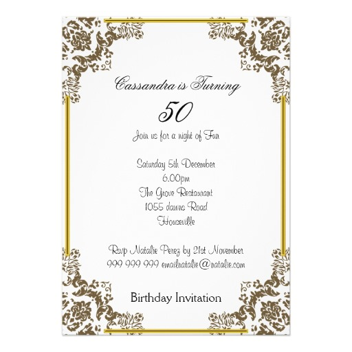 50th birthday party borders ; uncategorized-beautiful-50th-birthday-party-invitation-wording-and-black-border-colors-and-white-themed-sets-and-celebrations