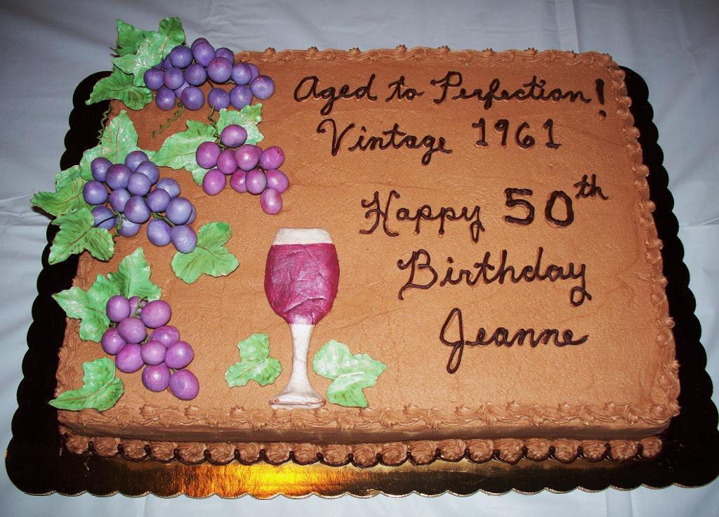50th birthday sheet cake ideas ; full_5010_50583_50thBirthdaycake_2