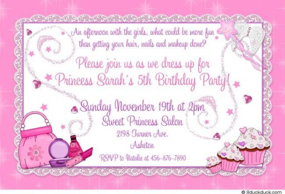 5th birthday invitation quotes ; 5th-birthday-party-invitation-wording-cimvitation-5th-birthday-invitation-wording-for-girl