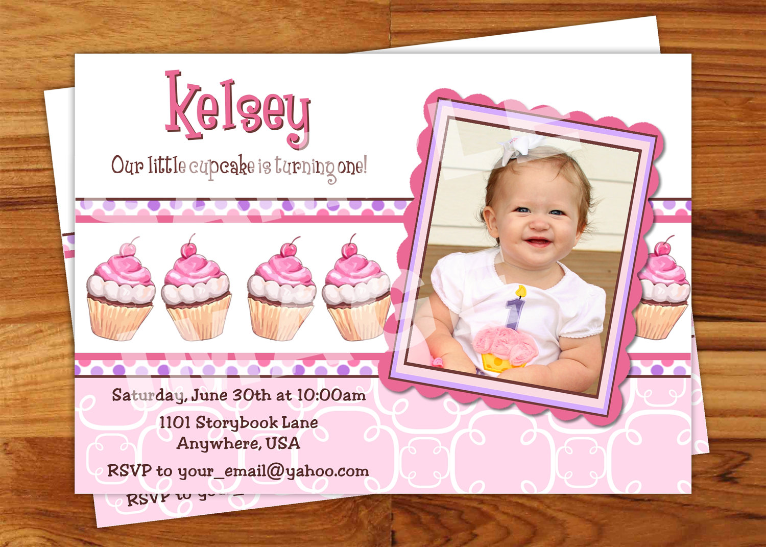 5th birthday invitation quotes ; first-birthday-party-invitation-wording-how-to-make-your-own-Birthday-invitations-using-word-7