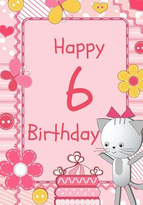 6 year old birthday card wishes ; 9781545196748_l