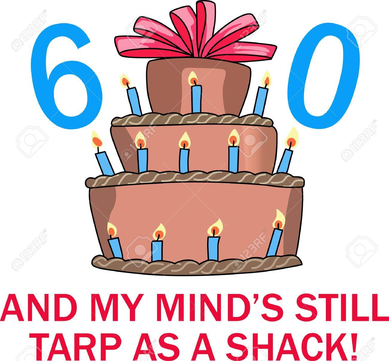 60th birthday clipart images ; 44967173-60th-birthday-cake