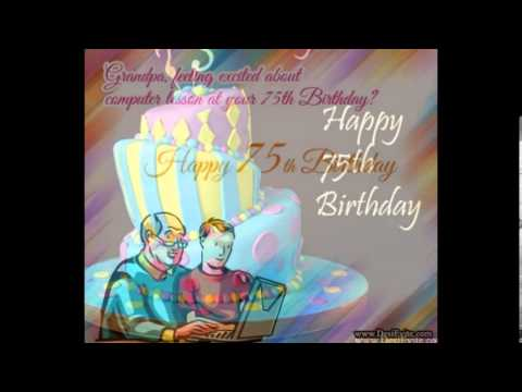 75 birthday wishes greeting cards ; hqdefault