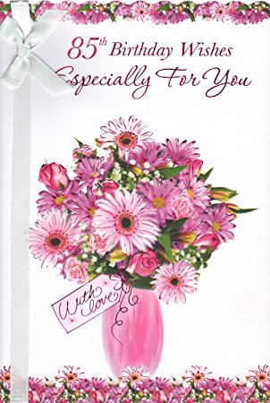 85th birthday card wishes ; 81r0TpSDGxL