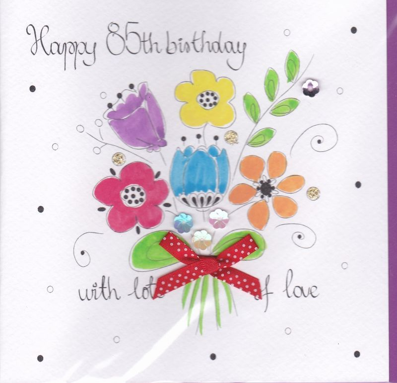 85th birthday card wishes ; buy-hand-painted-luxury-85th-birthday-card-for-her-online-female-age-eighty-five-birthday-cards-online-age-85-eightyfifth_grande
