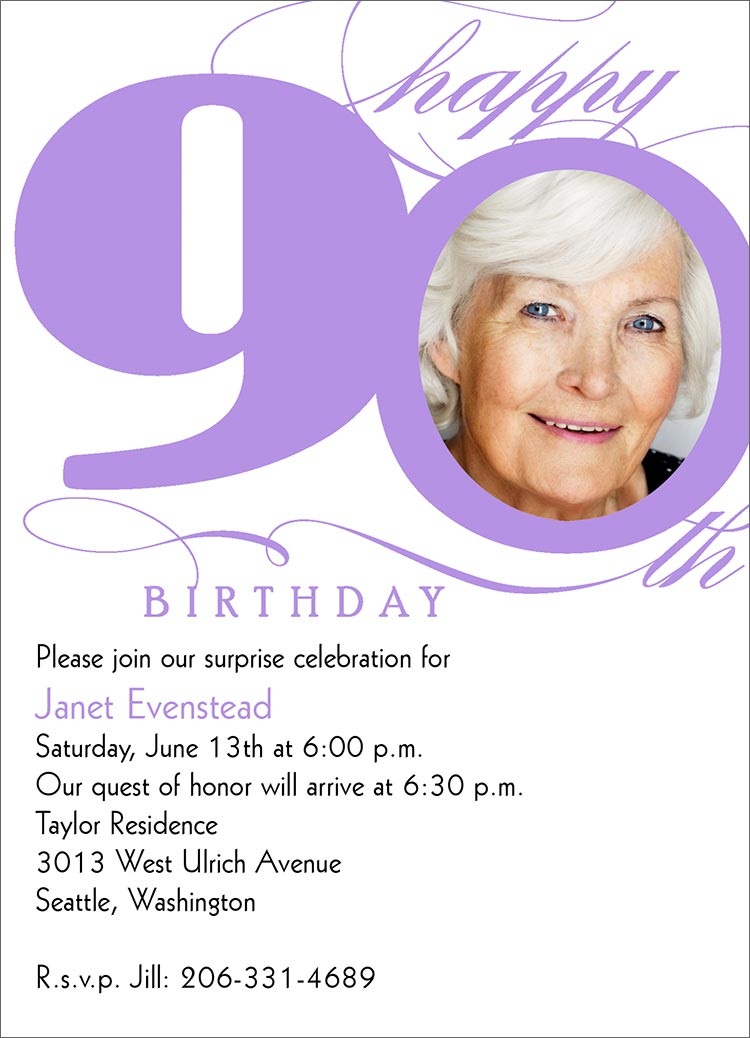 90th birthday borders ; 90th-birthday-invitation-to-create-a-captivating-Birthday-invitation-design-with-captivating-appearance-1
