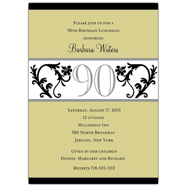 90th birthday borders ; b3326d56345f75b93fd6c8ac848ff148