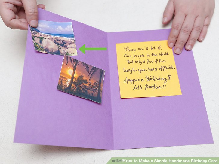 a picture of a birthday card ; aid1789636-v4-728px-Make-a-Simple-Handmade-Birthday-Card-Step-10
