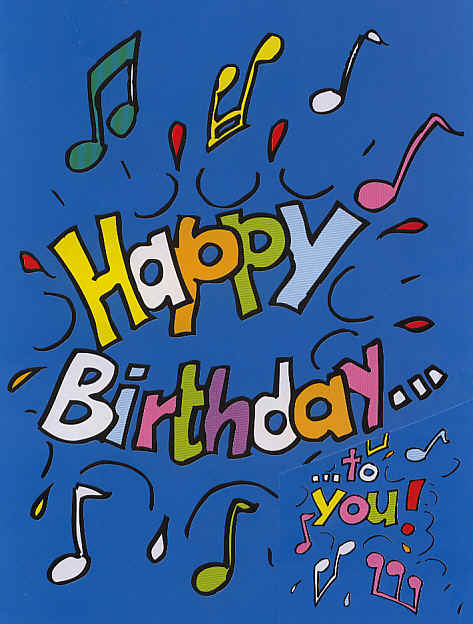 a picture of a birthday card ; happy-birthday-card
