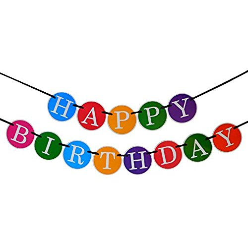 a picture of a happy birthday sign ; 41X9ZfO23qL