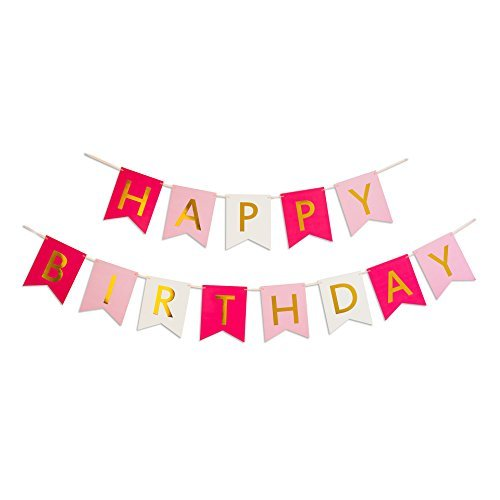 a picture of a happy birthday sign ; 41j3Q8wFPSL