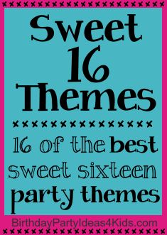 activities at a sweet 16 birthday party ; 41bb35da3a197f96bdbfaffd98516507--party-theme-for-teen-girls-birthday-party-themes-for-teens-sweet-