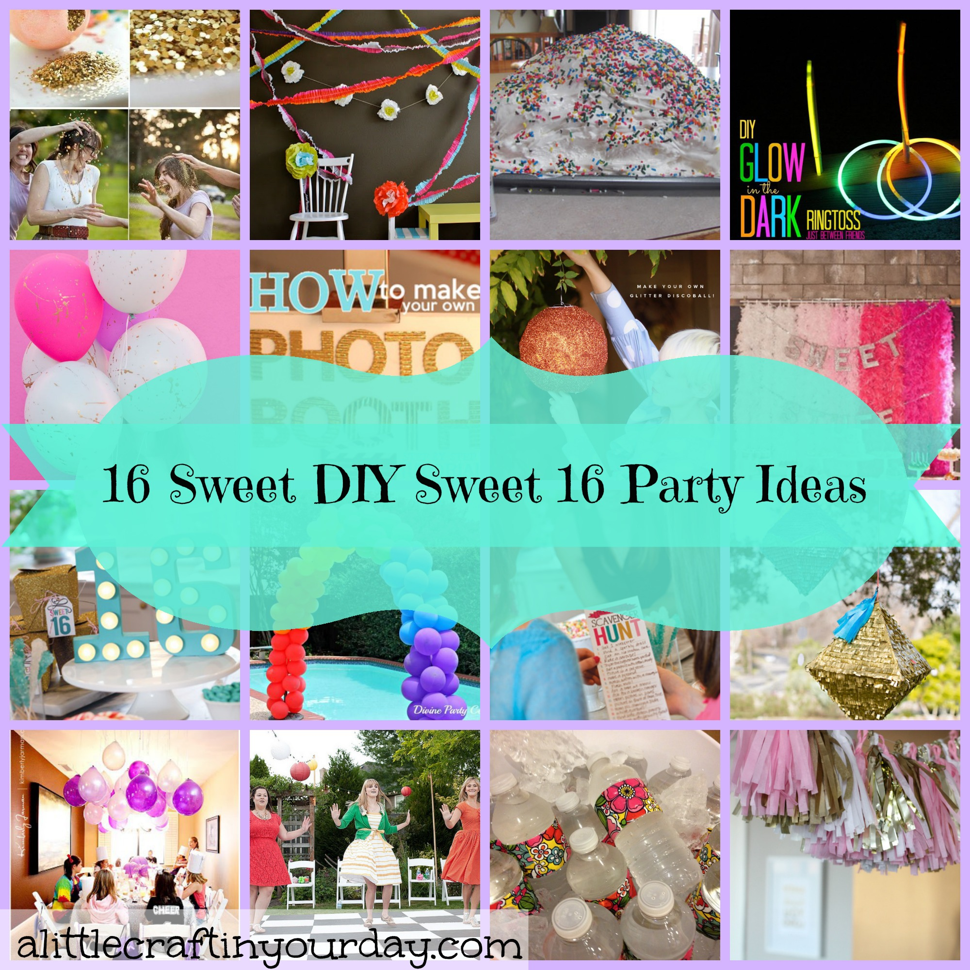 activities at a sweet 16 birthday party ; winsome-ideas-for-16th-birthday-party-games-16-sweet-diy-a-little-craft-in-your-day