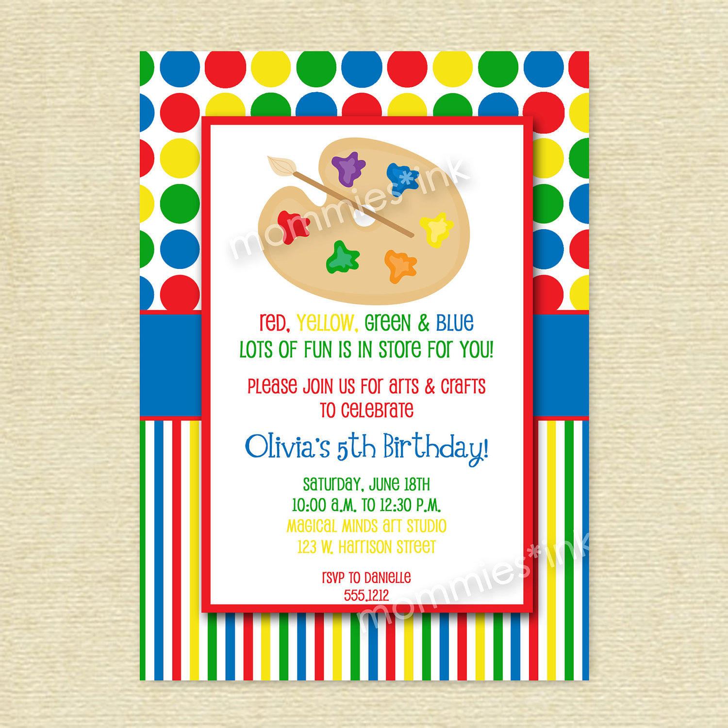 art themed birthday party invitation wording ; Art-Themed-Birthday-Party-Invitations-to-get-ideas-how-to-make-your-own-birthday-Invitation-design-9