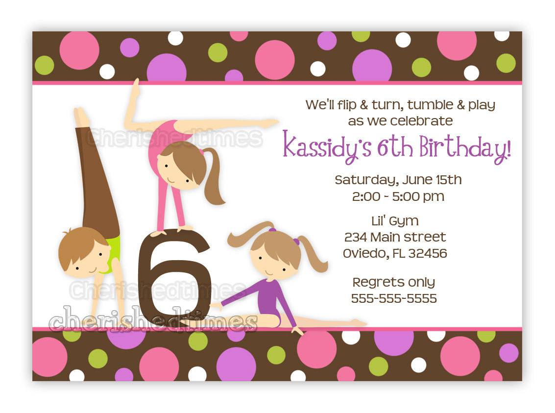 art themed birthday party invitation wording ; gymnastics-birthday-party-invitation-wording-for-your-save-the-dates-and-invites-15
