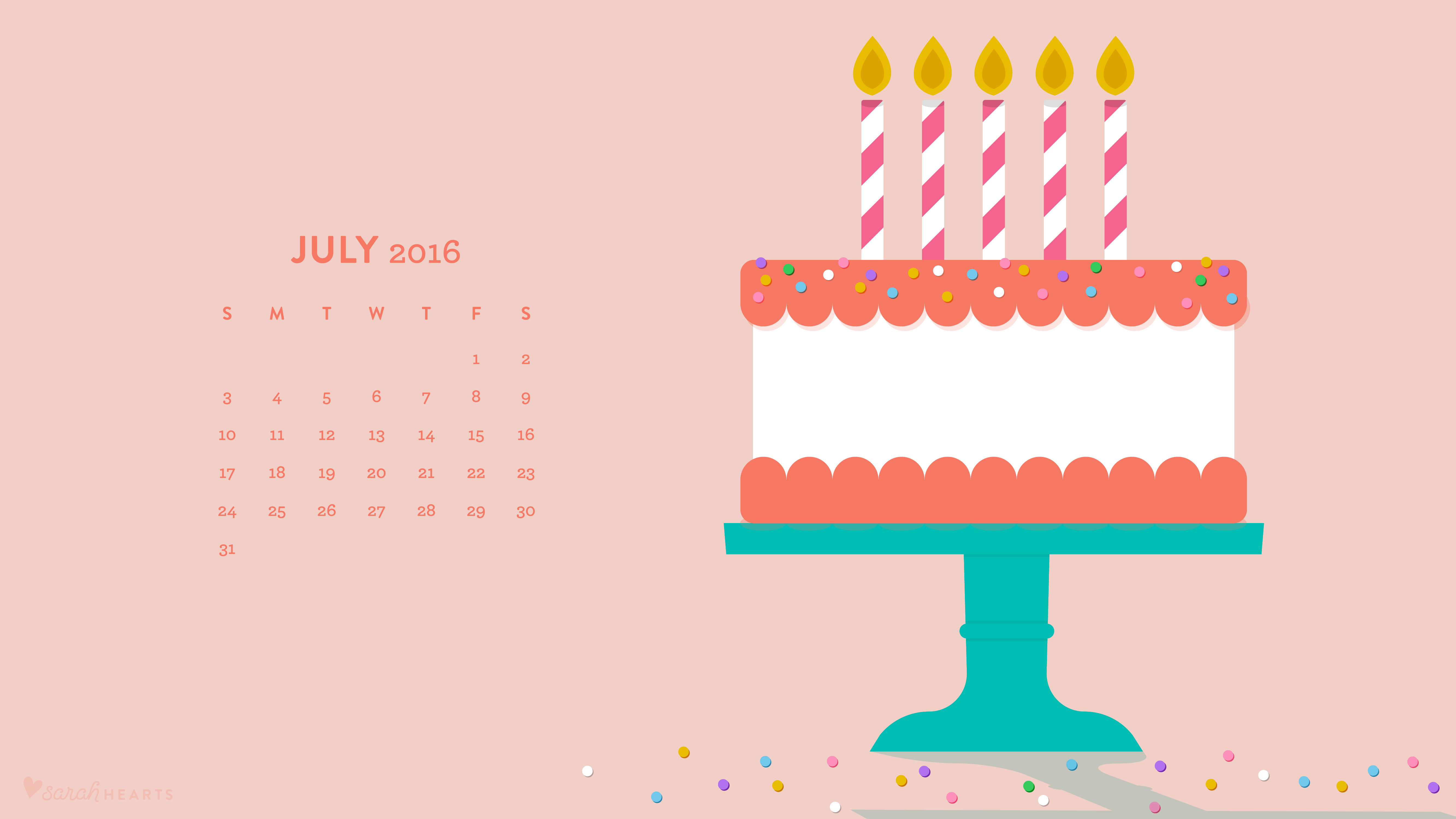 august birthday wallpaper pictures ; 07_2016_computer_calendar