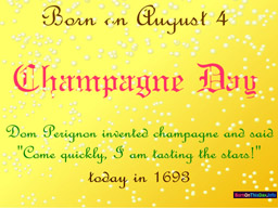 august birthday wallpaper pictures ; 0804bt_256x192_champagneday
