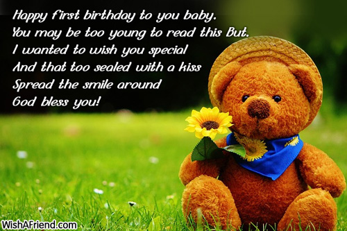 baby 1st birthday greeting message ; 13228-1st-birthday-wishes
