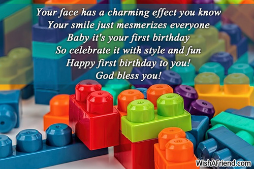baby 1st birthday greeting message ; 13229-1st-birthday-wishes