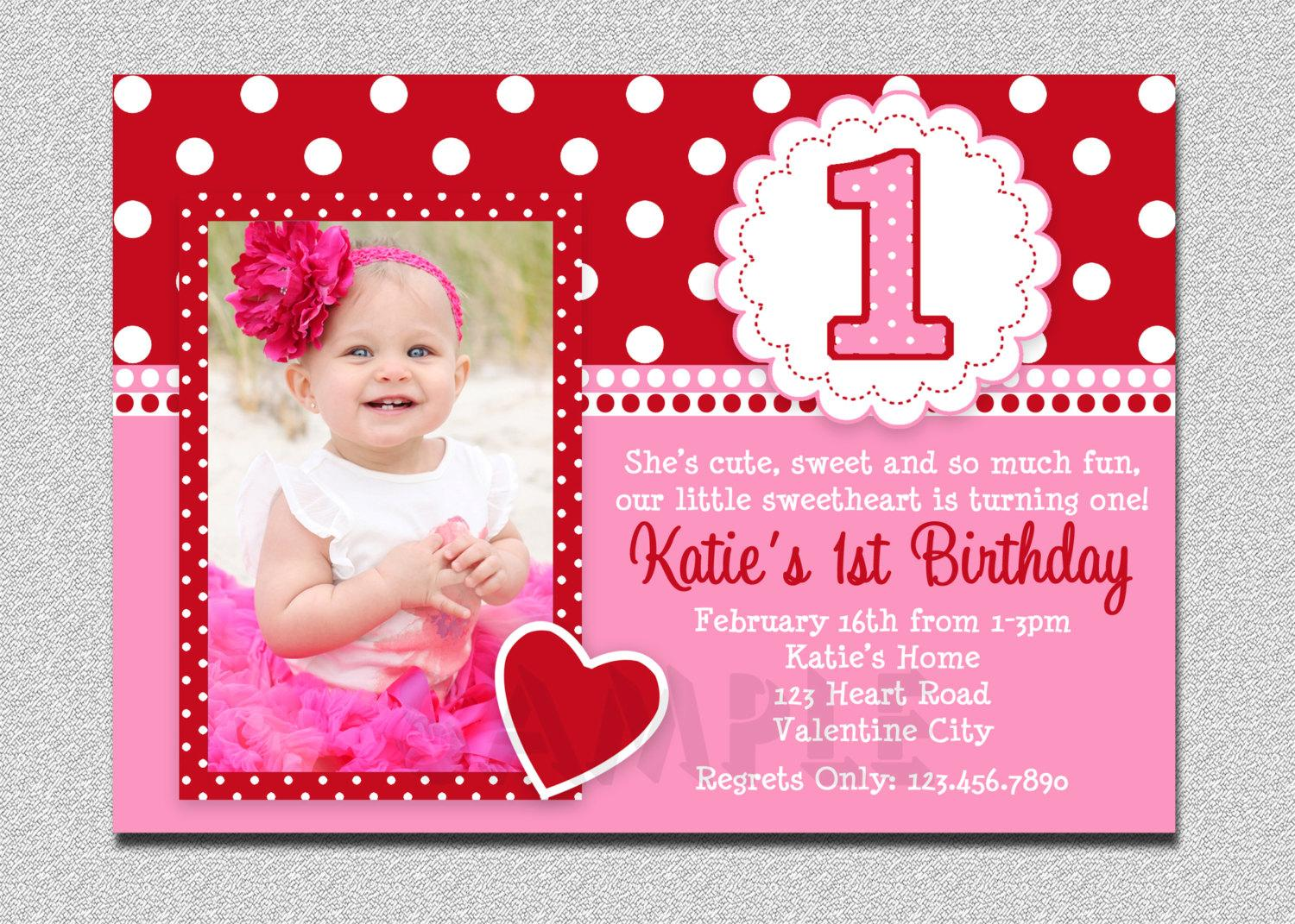 baby 1st birthday greeting message ; baby-1st-birthday-invitation-message-Of-Birthday-Invitations-Designed-pretty-2