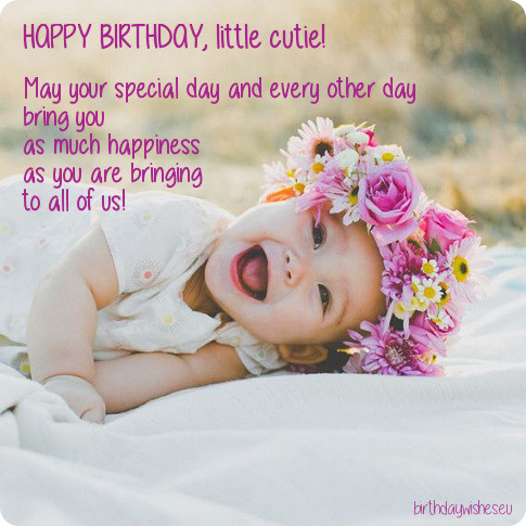 baby 1st birthday greeting message ; birthday-wishes-for-one-year-old