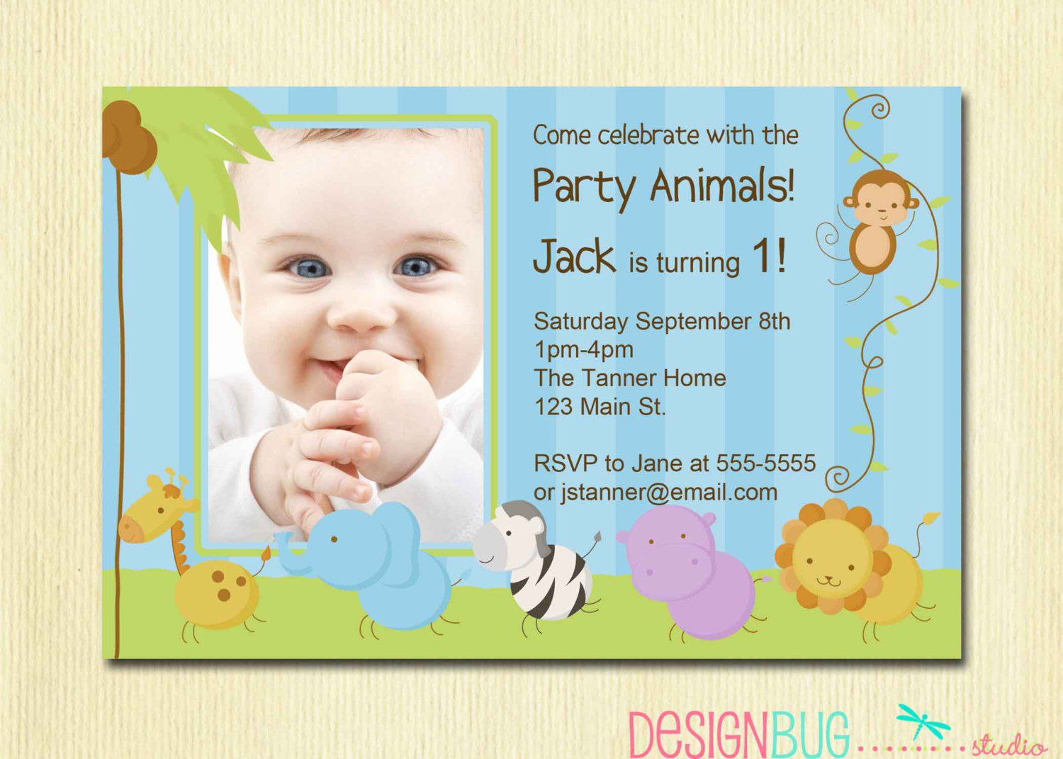 baby birthday invitation card template ; e8529a1e3fb1cdf74b79b07a0f08a89a