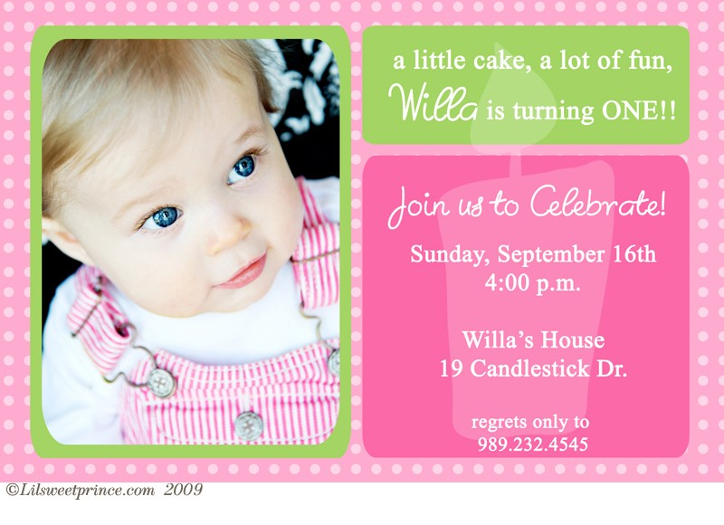 baby girl birthday invitation card design ; Terrific-First-Birthday-Party-Invitations-For-Additional-Free-Printable-Birthday-Invitations