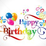 bday card designs ; abtract-colorful-birthday-card-design-vector-illustration-rohit-birthday-card-designs-150x150