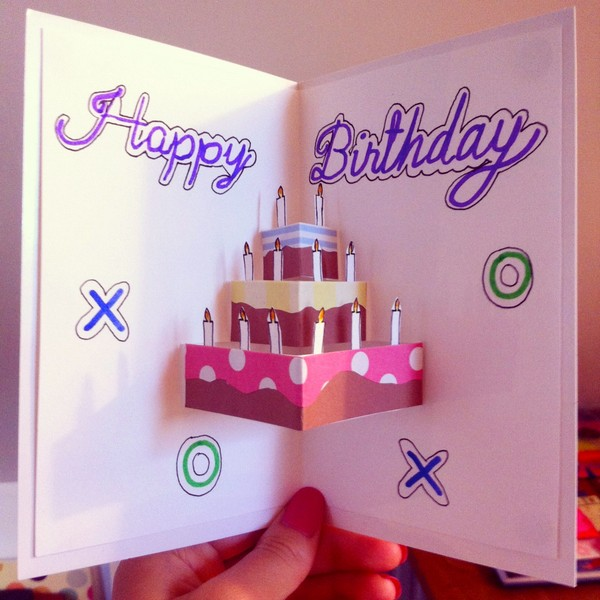 bday greeting card designs ; design-of-greeting-card-for-birthday-37-homemade-birthday-card-ideas-and-images-good-morning-quote-best