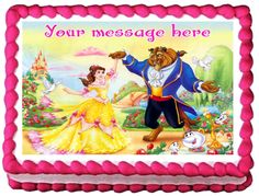 beauty and the beast birthday sheet cake ; 68b28d656055a8ded8866ab9b9c0b57b--beauty-and-the-beast-sheet-cake-belle-cake