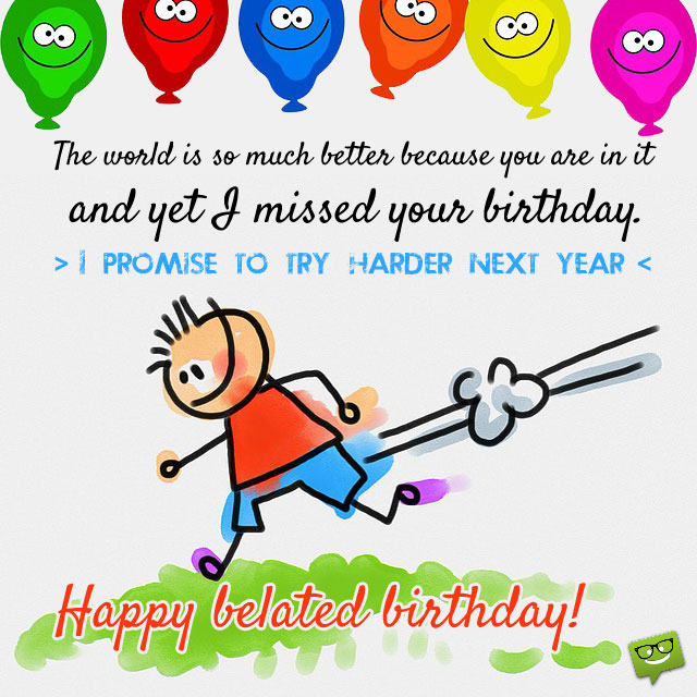 belated birthday wishes clipart ; 7d22951e18bc961b5afec66d9f395dab